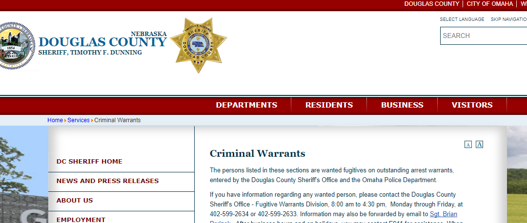Douglas County Warrants