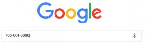 google phone search