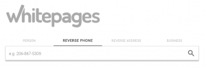 whitepages reverse phone