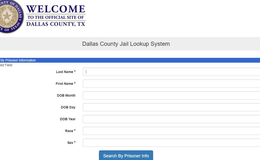 Dallas County Arrest Records