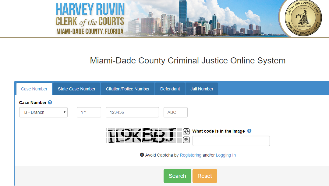 Miami Dade Criminal Records