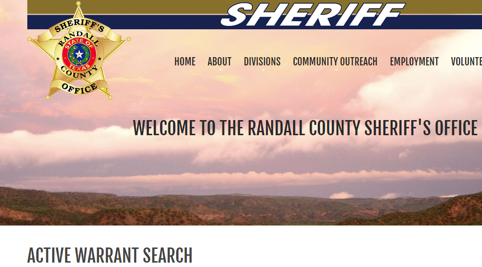 Randall County Warrants