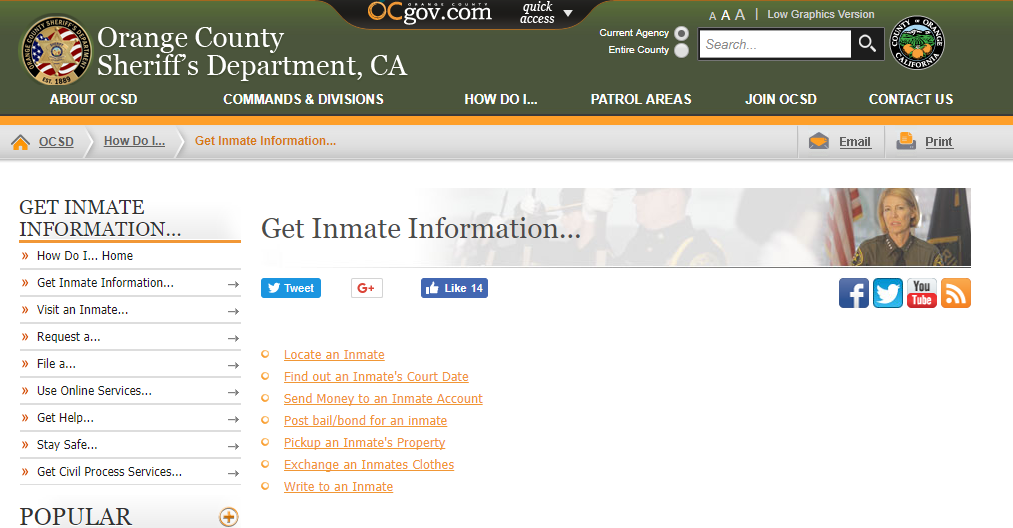 Ocsd org whos in jail search