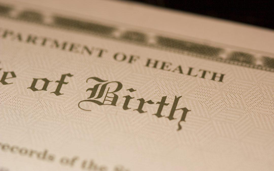 Are Birth Certificates Public Record