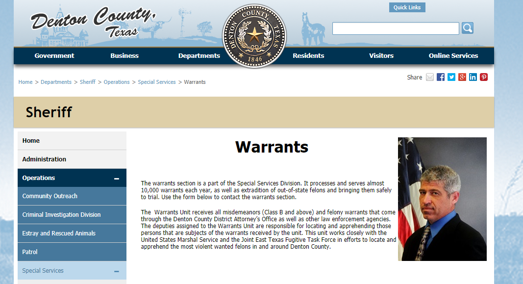 Denton County Warrants