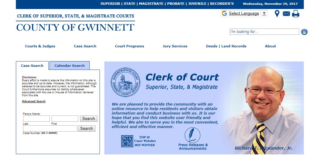 Gwinnett County Warrants