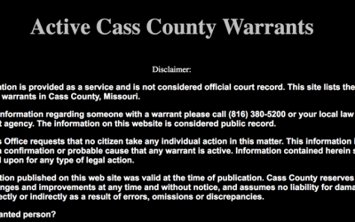 Cass County Warrants
