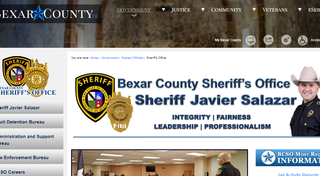 Bexar County Arrest Records