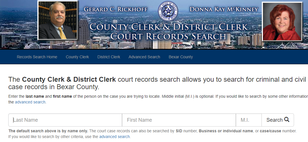 Bexar County Criminal Records