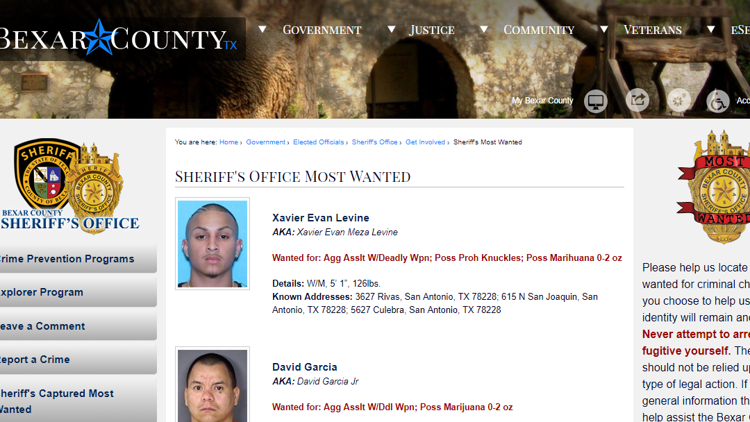 Bexar County Warrant Search