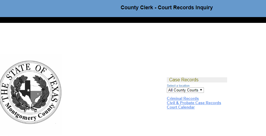 Montgomery County Criminal Records