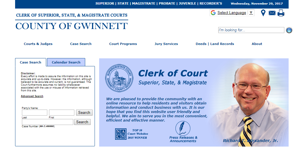 Gwinnett County Warrants