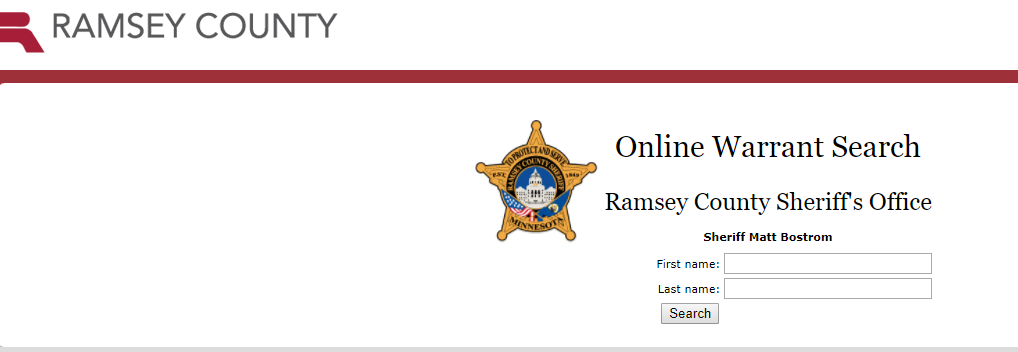 Ramsey County Warrants - Active Arrest Warrant Search