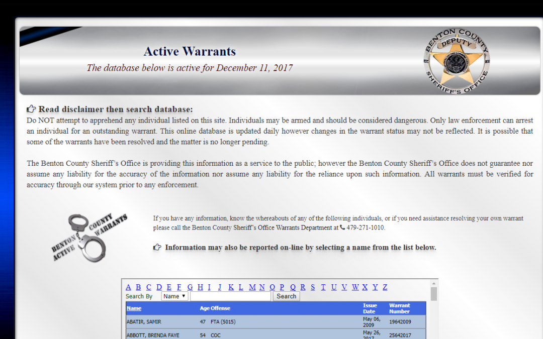 Online Warrant Search | Anoka County, MN - Official Website