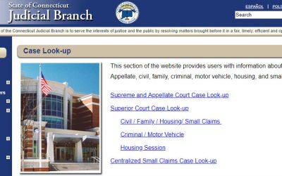 Connecticut Court Records