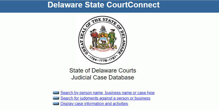 Delaware Court Records