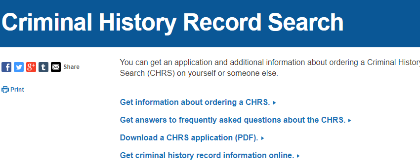 New York City Criminal Records
