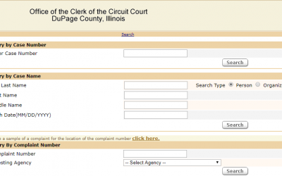 DuPage County Illinois Criminal Records